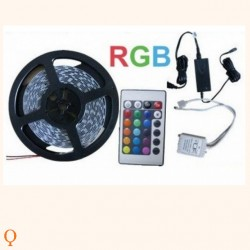 RGB LED strip warm white color with remote control